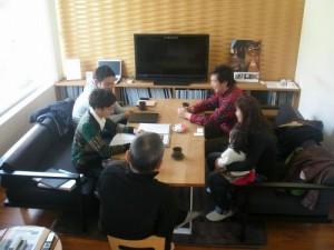 2013年3月 class新田さんと初対面