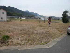 2012年2月 土地探しにじっくり時間をかけました。